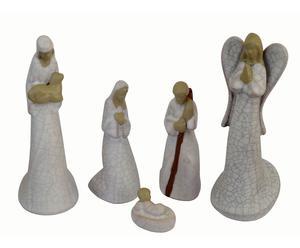 Nacimiento de cerámica - 5 piezas
