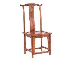 Silla imperial china en madera de cedro I - marrón