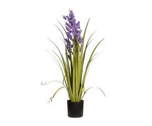Planta de césped y campanillas artificial - lila