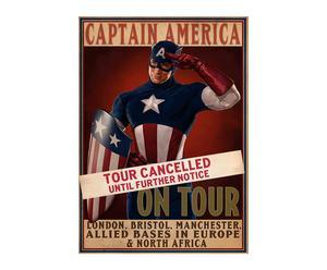 Cabecero Capitán América – 50x70
