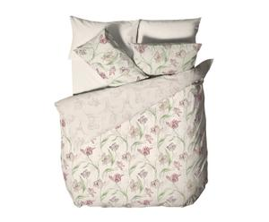 Set de funda nórdica, 2 de almohada y 2 cojines Tulips - cama 150
