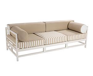 Sofá de aluminio - beige