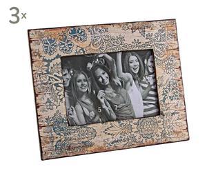 Set de 3 marcos Nellie para fotos de 13x18cm