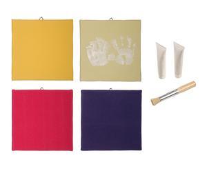 Set de 4 telas para pintar