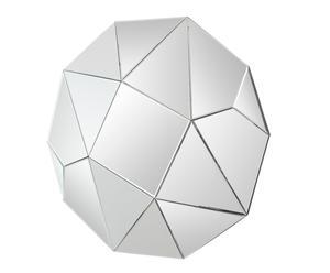 Espejo en DM y vidrio Diamante – Ø100 cm