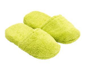 Zapatillas en algodón, verde pistacho – talla 36-40
