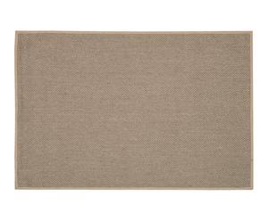 Alfombra de sisal y fibra sintética Kerala, gris I - 122x183 cm