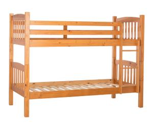 Litera en madera de pino Kit - miel
