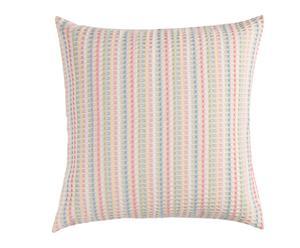 Cojín Clara de algodón, multicolor - 45x45 cm