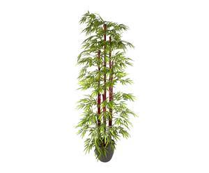 Planta de bambú verde artificial