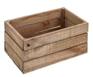 Caja de madera de pino, envejecida I - 30x50 cm