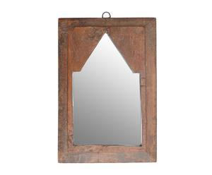 Espejo en madera maciza - 22x32 cm