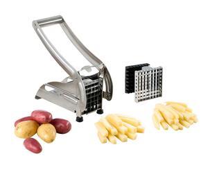 Set para cortar patatas en acero inoxidable