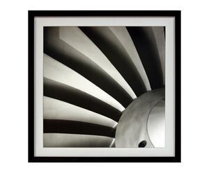 Cuadro serie Fotografías en blanco y negro XXIV - 60x60 cm