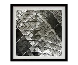 Cuadro serie Fotografías en blanco y negro XI - 60x60 cm