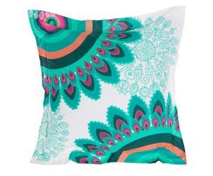 Funda de almohada de doble cara Margaritas - 65x65cm