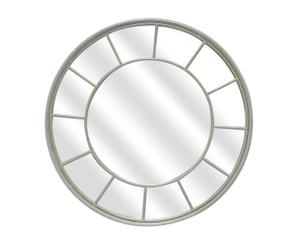 Espejo de metal Ventana - ø90cm