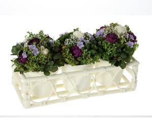 Centro de flores artificial  IV