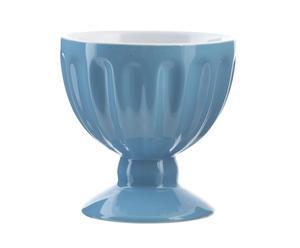 Vaso de helado en gres – azul