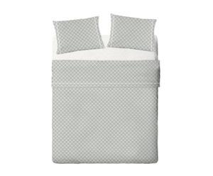 Juego de sábanas de percal Tina, cama de 150 - 4 piezas