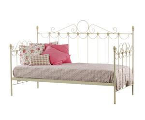 Sofá cama Flor de forja - blanco decapado