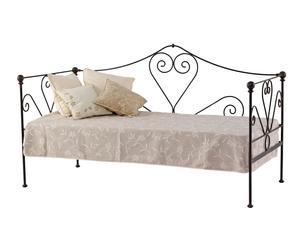 Sofá cama Granada de forja - óxido