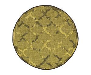 Alfombra de polipropileno Vetus, multicolor IV - Ø 90 cm