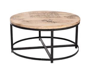 Mesa de centro en mango - 90x90x45cm