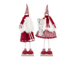 Set de 2 muñecas esquiadoras Classic