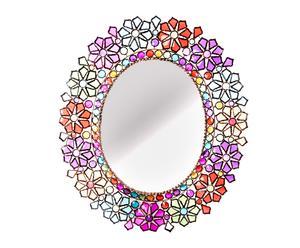 Espejo enmarcado en metal y acrílico - 172x120 cm