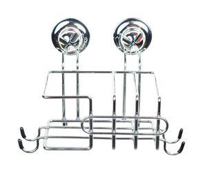 Soporte para accesorios de limpieza en acero inoxidable