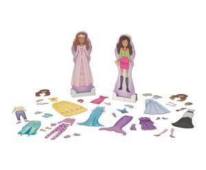 Set de muñecas magnéticas con accesorios Tendencias y fantasía