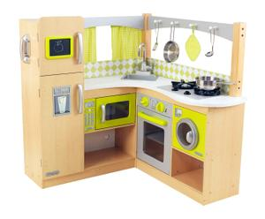 Cocina de juguete – verde limón