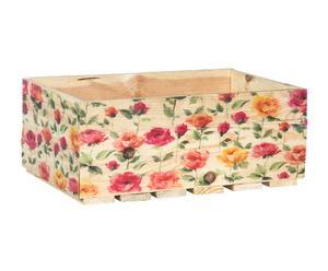 Caja de madera reciclada III