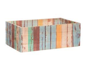 Caja de madera reciclada VI