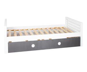 Cama nido con somier en DM Brole – 98x203x70cm