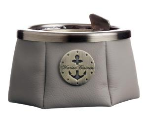 Cenicero con tapa Premium - gris