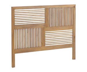 Cabecero en madera de mindi - 166x136 cm