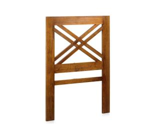 Cabecero de madera de mindi Star - 100x140 cm