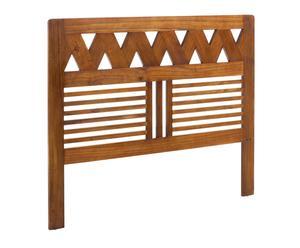 Cabecero en madera de mindi Flash - cama de 160