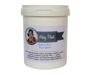 Pintura Mary Paint, blanco puro - 0,75 L
