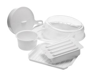 Set de 5 recipientes para microondas Cookware