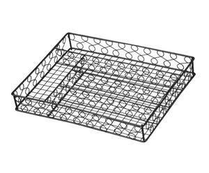 Bandeja para cubiertos en metal