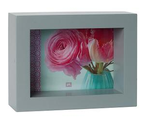 Marco de fotos de madera DM Box - 20x15cm
