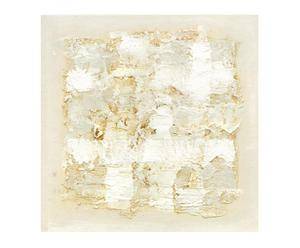 Lienzo Abstract Blanco II - 75x75 cm