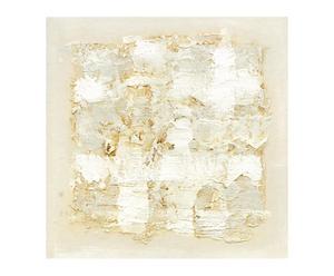 Lienzo Abstract Blanco II - 75x75 cm