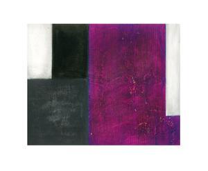 Lienzo Abstract Lila y negro I - 50x75 cm