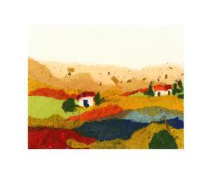 Lienzo Abstract Campo I - 70x90 cm