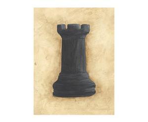 Lienzo Vintage Ajedrez II - 50x75 cm