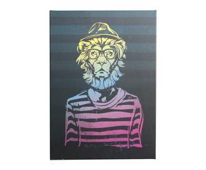 Lienzo Hipster Lion - 50x70 cm